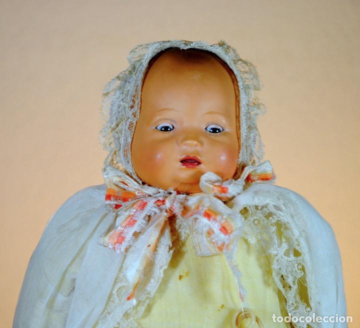 Muñecas Celuloide: BEBE CELULOIDE 'BRUNO SCHMIDT'-'SCHUZT MARKE' Antiguo muñeco alemán de celuloide. - Foto 2 - 83017360