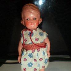 Muñecas Celuloide: MUÑECA DE CELULOIDE 13.50 - 14 MARCA TORTUGA. Lote 84353136