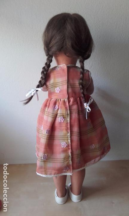 Muñecas Celuloide: Antigua muñeca de celuloide de 68 cm (B-TE SGDG FRANCE nº 62). - Foto 19 - 86979636