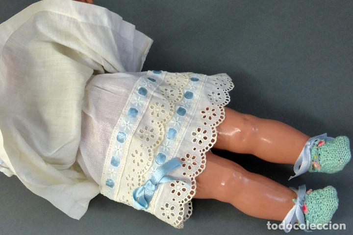 Muñecas Celuloide: Muñeca celuloide La Tortuga 45 Schildkrot marca espalda ropa original años 30 45 cm alto - Foto 10 - 88976408
