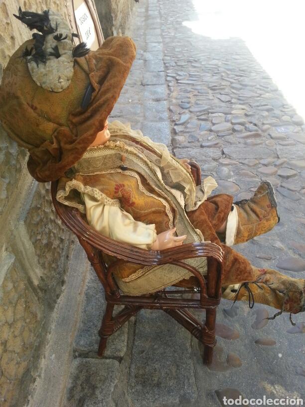 Muñecas Celuloide: Muñeca de celuloide con sillon de mimbre - Foto 6 - 89175852