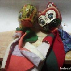 Muñecas Celuloide: GIÑOLES EN CELUDOIDE O CARTON PIEDRA. Lote 94152005