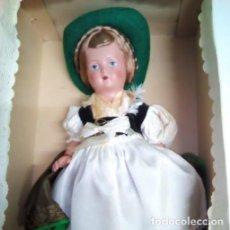 Muñecas Celuloide: MUÑECA ALEMANA CELULOIDE EN TRAJE REGIONAL . AÑOS 50. SIEMPRE EN CAJA.. Lote 96636975