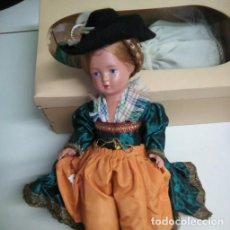 Muñecas Celuloide: MUÑECA ALEMANA CELULOIDE EN TRAJE REGIONAL.. Lote 96637107