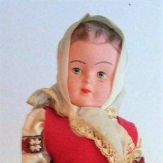 Muñecas Celuloide: MUÑECA TRAJE REGIONAL - ANOS '30. Lote 98979775