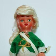 Muñecas Celuloide: ANTIGUO MUÑECO AÑOS 60 DE PLÁSTICO CELULOIDE. Lote 99909954