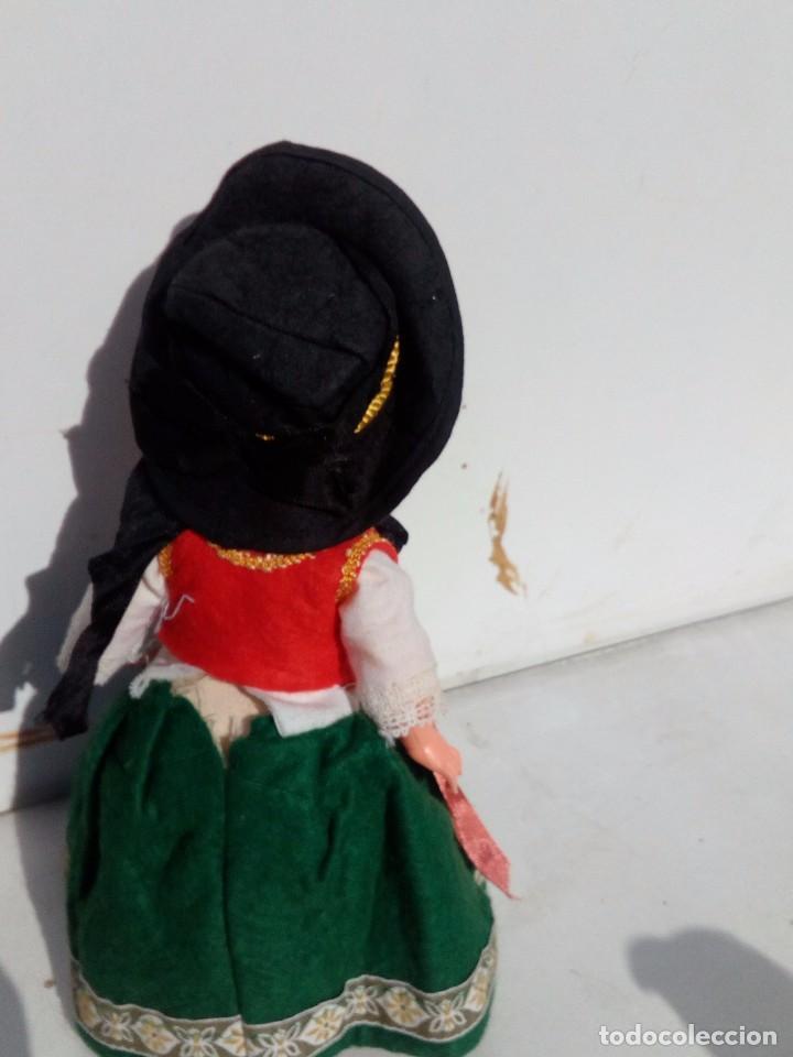 Muñecas Celuloide: PRECIOSA MUÑECA OJOS DURMIENTES PELO MOHAIR CELULOIDE ELSE BASLOW 1950 - Foto 2 - 100222451