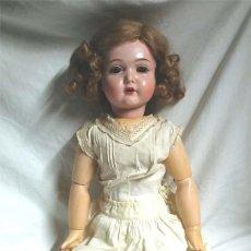 Bonecas Celuloide: MUÑECA ALEMANA K&R, CABEZA CELULOIDE, TRONCO COMPOSICIÓN, EXTREMIDADES ARTICULADAS. MED. 60 CM. Lote 103846295