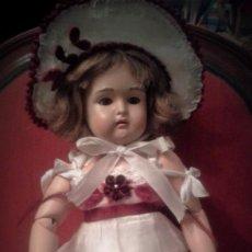 Muñecas Celuloide: PRECIOSA MUÑECA DE CELULOIDE KAMMER & REINHARDT 406 GERMANY ,GRABADA EN LA NUCA .(EN OFERTA). Lote 103993667