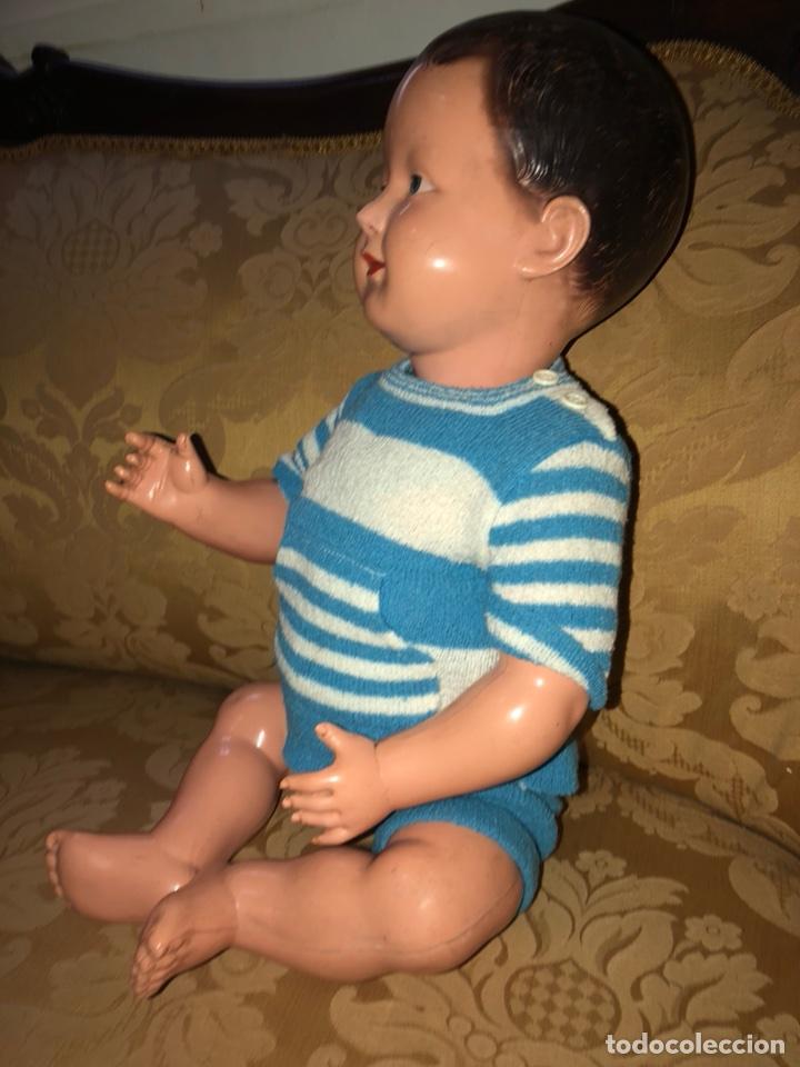 Muñecas Celuloide: Muñeco bebé pepón de celuloide SNF Francia.55 cm - Foto 3 - 107075700