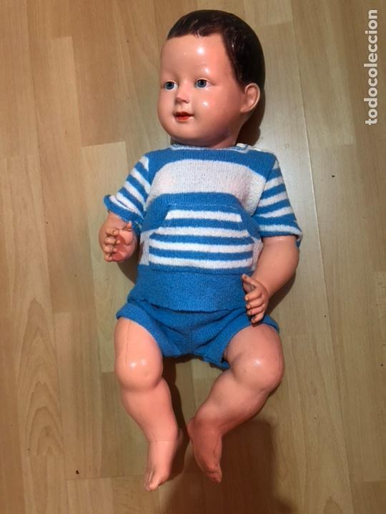 Muñecas Celuloide: Muñeco bebé pepón de celuloide SNF Francia.55 cm - Foto 4 - 107075700