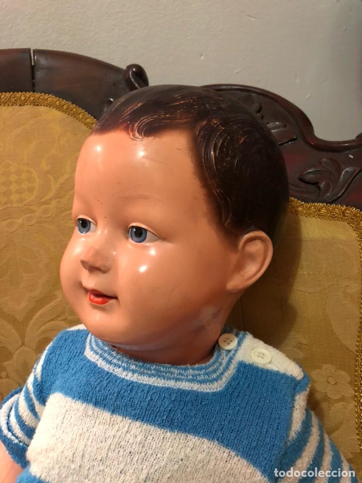 Muñecas Celuloide: Muñeco bebé pepón de celuloide SNF Francia.55 cm - Foto 5 - 107075700