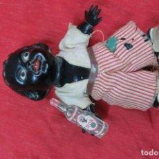 Muñecas Celuloide: MUÑECO DE CELULOIDE DE PUBLICIDAD DE RON NEGRITA. Lote 111031507
