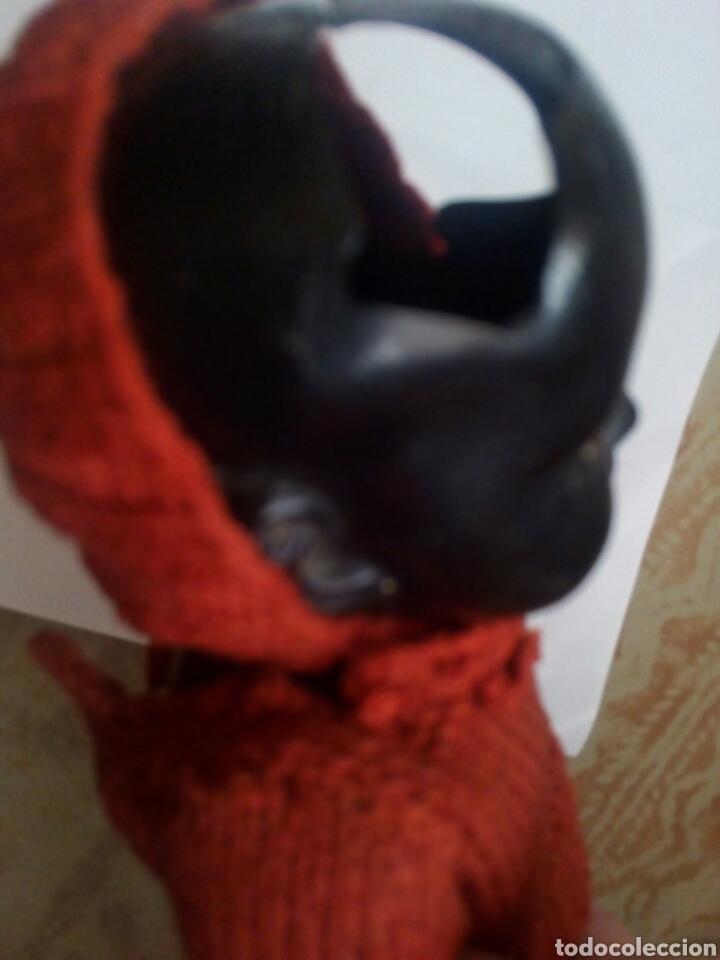 Muñecas Celuloide: Muñeco Celuloide Negro. Marca la Tortuga - Foto 3 - 111476564