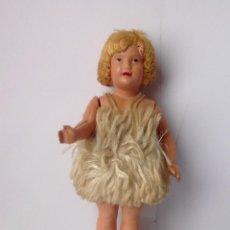 Bonecas Celuloide: ANTIGUA MUÑECA DE SHIRLEY TEMPLE ORIGINAL 1930 , EN CELULOIDE. Lote 116465735