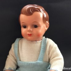 Bonecas Celuloide: MUÑECO BRUNO SCHMIDT CON CABEZA DE CELULOIDE. Lote 116561032