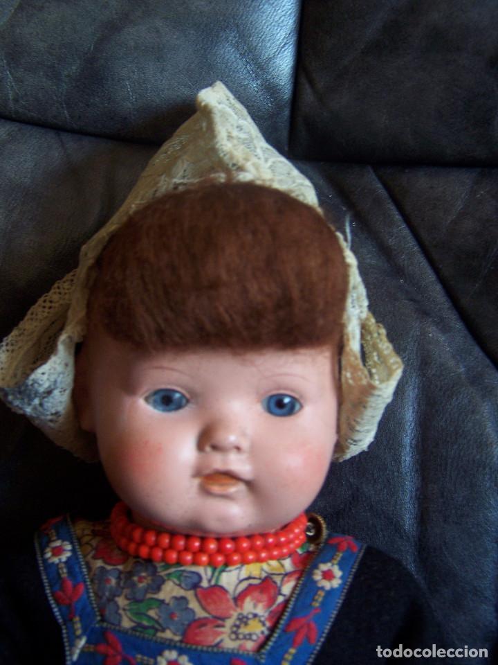 Muñecas Celuloide: Pareja de muñecos de celuloide de la marca alemana tortuga, con la numeración 109/35. Prinipios S:XX - Foto 5 - 122190043