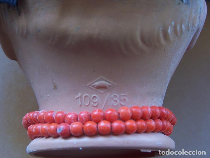 Muñecas Celuloide: Pareja de muñecos de celuloide de la marca alemana tortuga, con la numeración 109/35. Prinipios S:XX - Foto 8 - 122190043