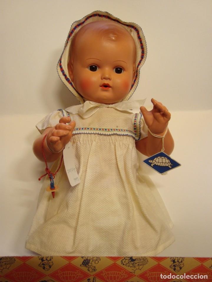Muñecas Celuloide: Strampelchen : muñeco baby de celuloide alemán marca la tortuga - Foto 2 - 133521566