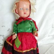 Muñecas Celuloide: MUÑECA ITALIANA MARCA MQ AÑOS 50 28CM. Lote 137123234