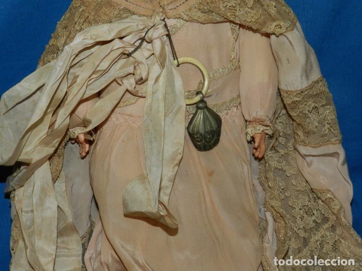 Muñecas Celuloide: (M) MUÑECA BEBE DE CELULOIDE MARCA SCHUTZ MARKE 2074 , CON SONAJERO ANTIGUO , 36 CM - Foto 8 - 144487846
