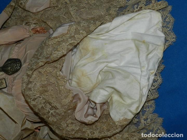Muñecas Celuloide: (M) MUÑECA BEBE DE CELULOIDE MARCA SCHUTZ MARKE 2074 , CON SONAJERO ANTIGUO , 36 CM - Foto 9 - 144487846