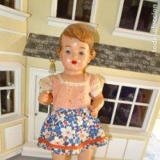 Muñecas Celuloide: ANTIGUA MUÑECA ALEMANA MARCADA TORTUGA. Lote 147030410