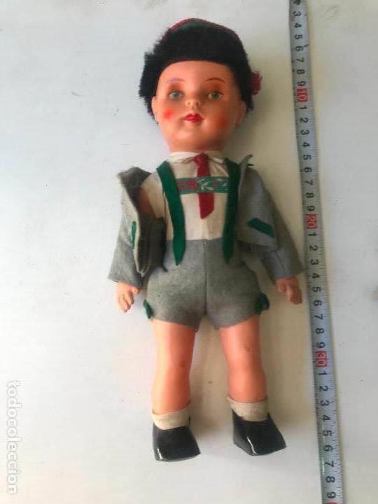 Muñecas Celuloide: precioso muñeco de celuloide aleman 30 cm - Foto 2 - 148476302
