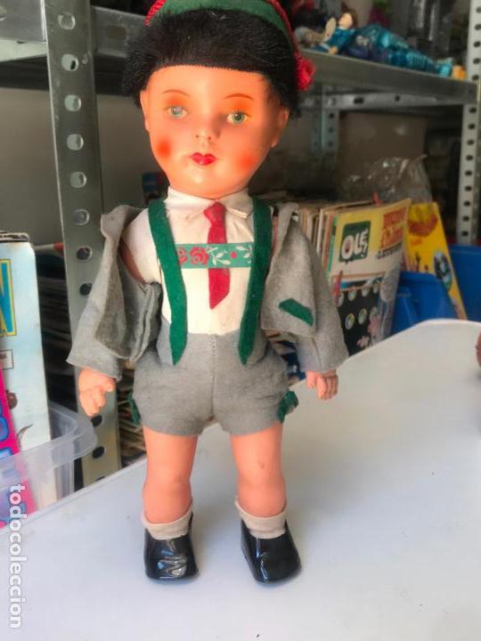 Muñecas Celuloide: precioso muñeco de celuloide aleman 30 cm - Foto 3 - 148476302