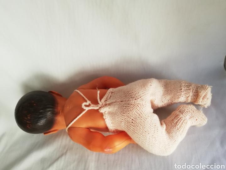 Muñecas Celuloide: Muñeco bebé antiguo francés de celuloide.. Muñeca sello Francia - Foto 4 - 151729433