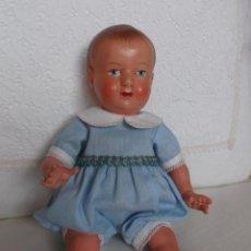 Muñecas Celuloide: MUÑECO FRANCÉS PETIT COLIN 20 CM, CON TRAJECITO AZUL. Lote 154814578