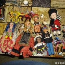 Muñecas Celuloide: MUY MUY BONITO LOTE DE MUNECAS FRANCESAS EPOCA 1940 VER FOTOS DE COLECCION. Lote 155532570