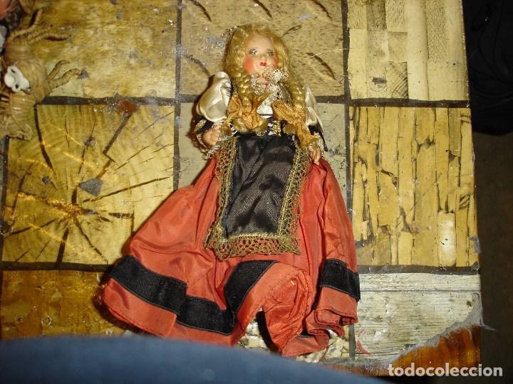 Muñecas Celuloide: muy muy bonito lote de munecas francesas epoca 1940 ver fotos de coleccion - Foto 2 - 155532570
