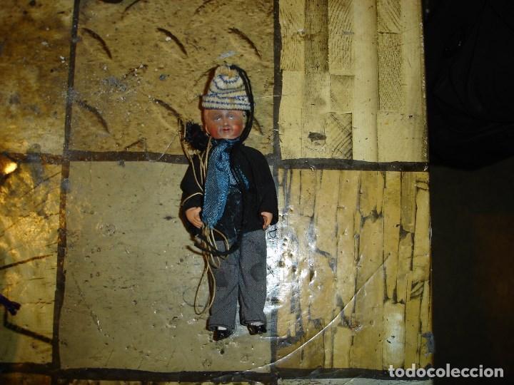 Muñecas Celuloide: muy muy bonito lote de munecas francesas epoca 1940 ver fotos de coleccion - Foto 5 - 155532570