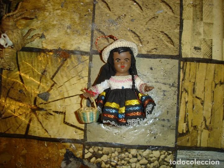 Muñecas Celuloide: muy muy bonito lote de munecas francesas epoca 1940 ver fotos de coleccion - Foto 8 - 155532570