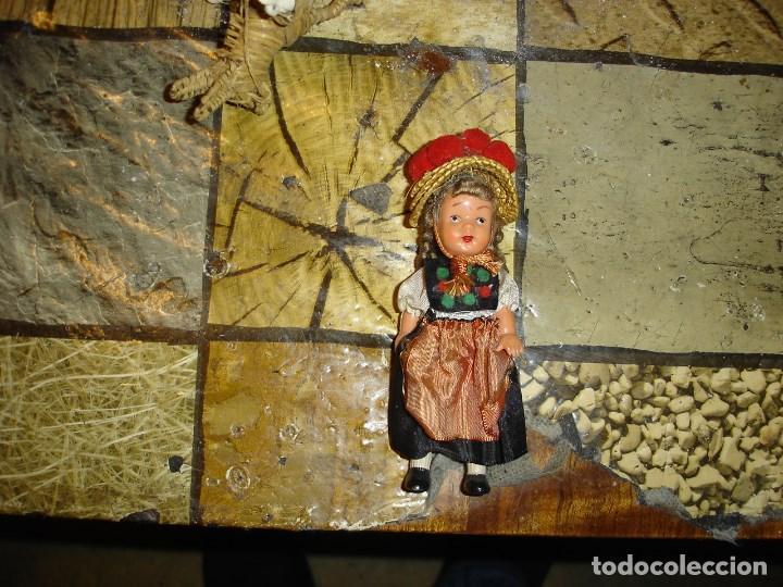 Muñecas Celuloide: muy muy bonito lote de munecas francesas epoca 1940 ver fotos de coleccion - Foto 10 - 155532570