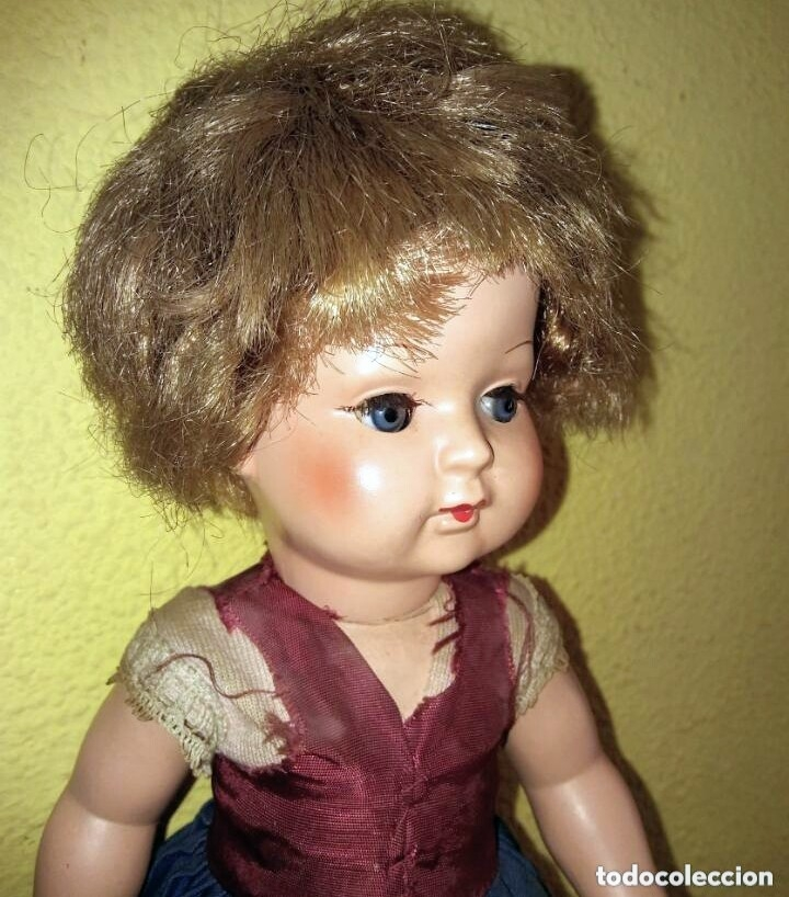 Muñecas Celuloide: Antigua muñeca alemana de celuloide. - Foto 4 - 101534255