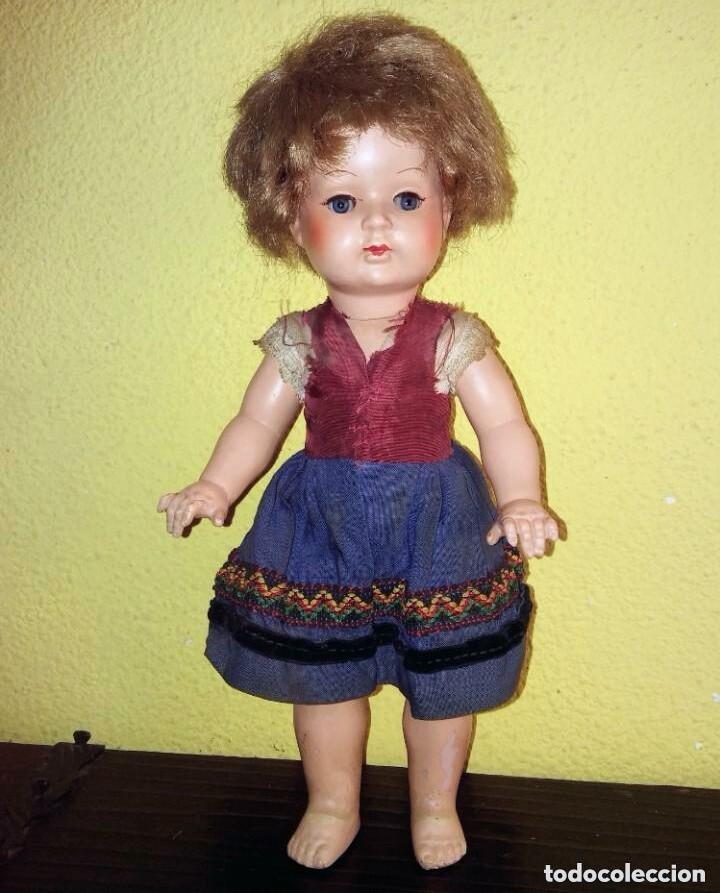 Muñecas Celuloide: Antigua muñeca alemana de celuloide. - Foto 2 - 101534255