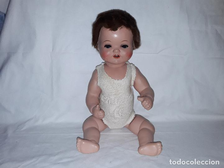 Muñecas Celuloide: Muñeco bebe de celuloide marca Cellba años 40 - completo en su caja - Foto 2 - 156642614