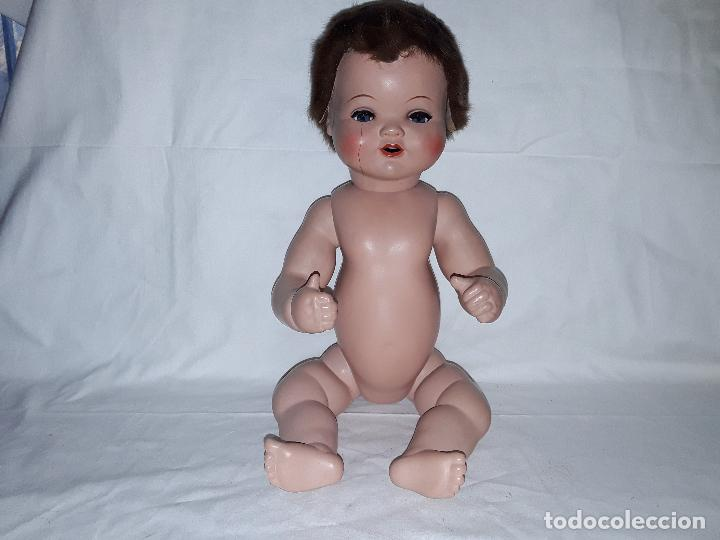 Muñecas Celuloide: Muñeco bebe de celuloide marca Cellba años 40 - completo en su caja - Foto 13 - 156642614