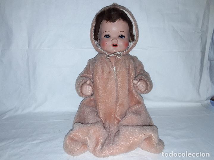 Muñecas Celuloide: Muñeco bebe de celuloide marca Cellba años 40 - completo en su caja - Foto 15 - 156642614