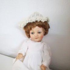 Muñecas Celuloide: PRECIOSA MUÑECA ALEMANA DE CELULOIDE CON MARCA EN LA NUCA. Lote 158429153