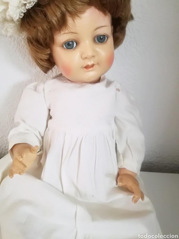 Muñecas Celuloide: Preciosa muñeca alemana de celuloide con marca en la nuca - Foto 3 - 158429153