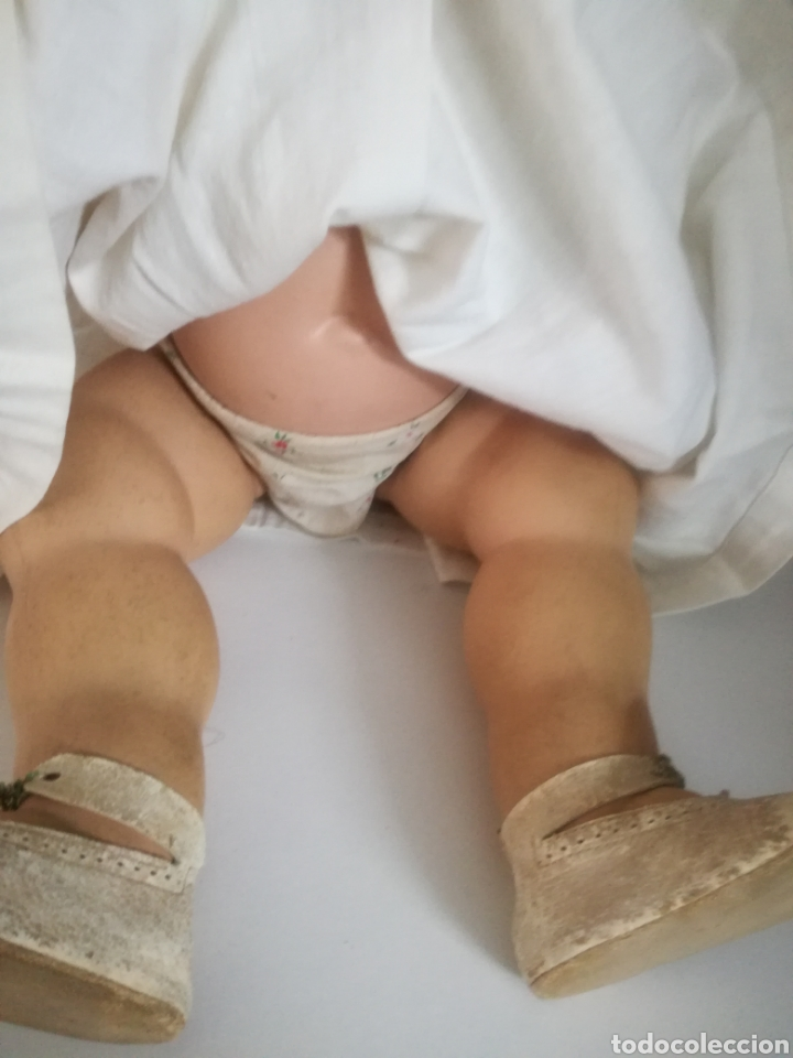 Muñecas Celuloide: Preciosa muñeca alemana de celuloide con marca en la nuca - Foto 4 - 158429153