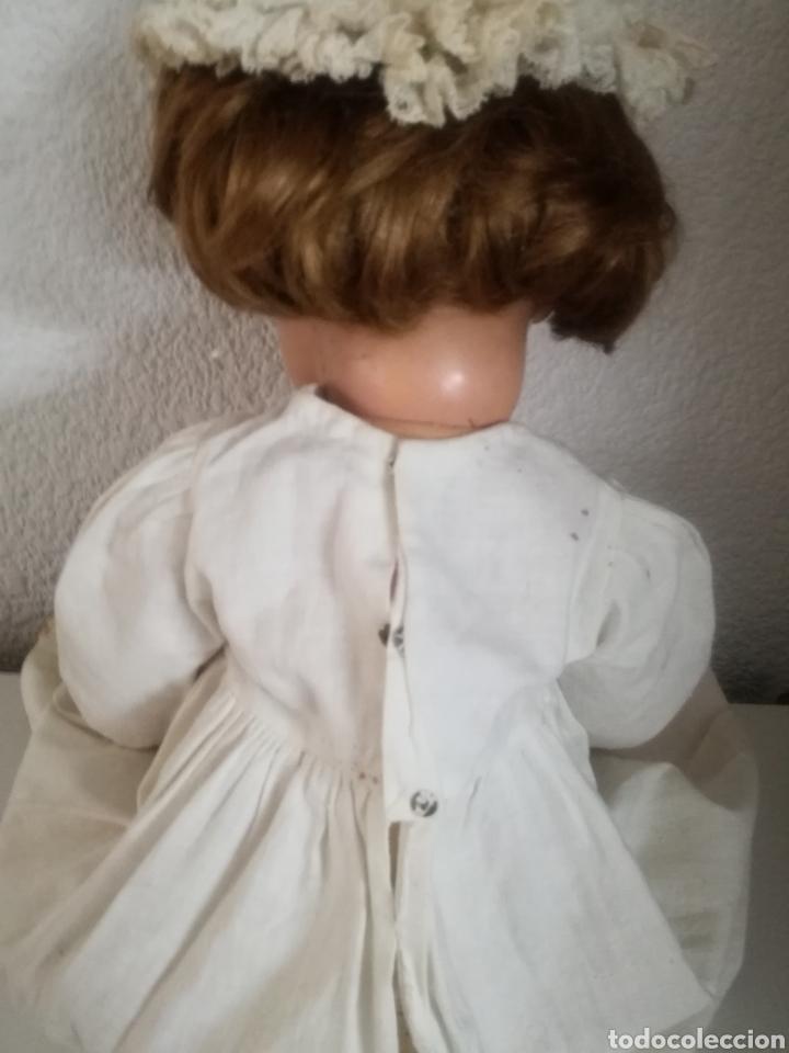 Muñecas Celuloide: Preciosa muñeca alemana de celuloide con marca en la nuca - Foto 8 - 158429153