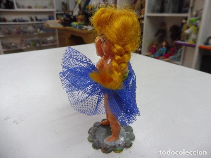 Muñecas Celuloide: Muñeca celuloide plástico duro articulada bailarina con base falda y corpiño de tul - Foto 4 - 160596890