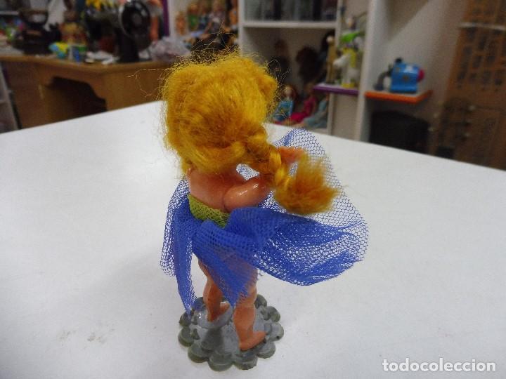 Muñecas Celuloide: Muñeca celuloide plástico duro articulada bailarina con base falda y corpiño de tul - Foto 8 - 160596890