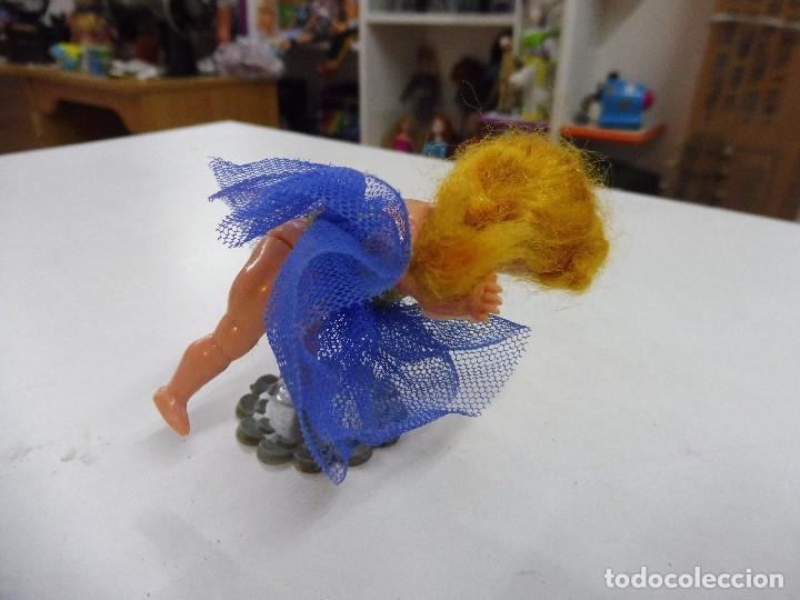 Muñecas Celuloide: Muñeca celuloide plástico duro articulada bailarina con base falda y corpiño de tul - Foto 10 - 160596890