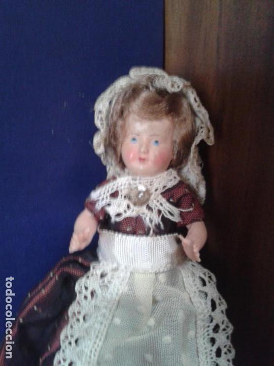 Zelluloid-Puppen: Muñeca pequeña francesa de celuloide años 50. - Foto 2 - 160670578