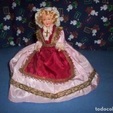 Muñecas Celuloide: MUÑECA CELULOIDE REGIONAL AÑOS 50 . Lote 162286486